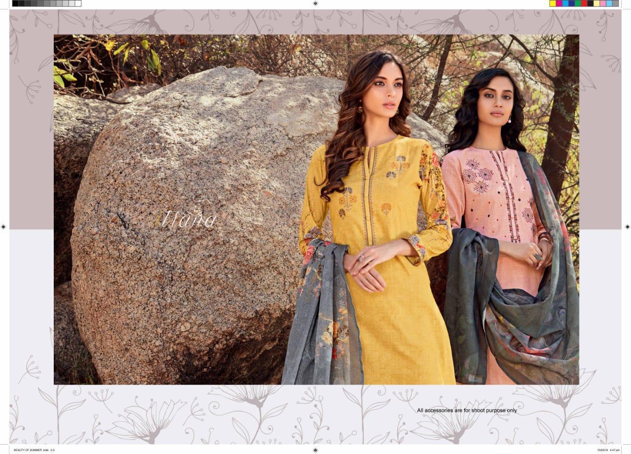 Sahiba Itrana Beauty Of Summer Designer Suit Wholesale