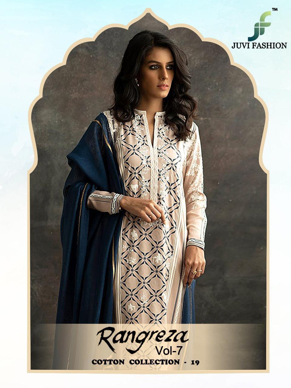 Rangreza Vol 7 Designe Cotton Collection Best Wholesale Rate