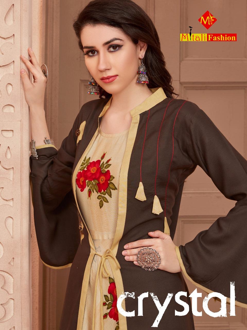 Mitali Crystal Designer Koti Gowns Best Wholesale Rate