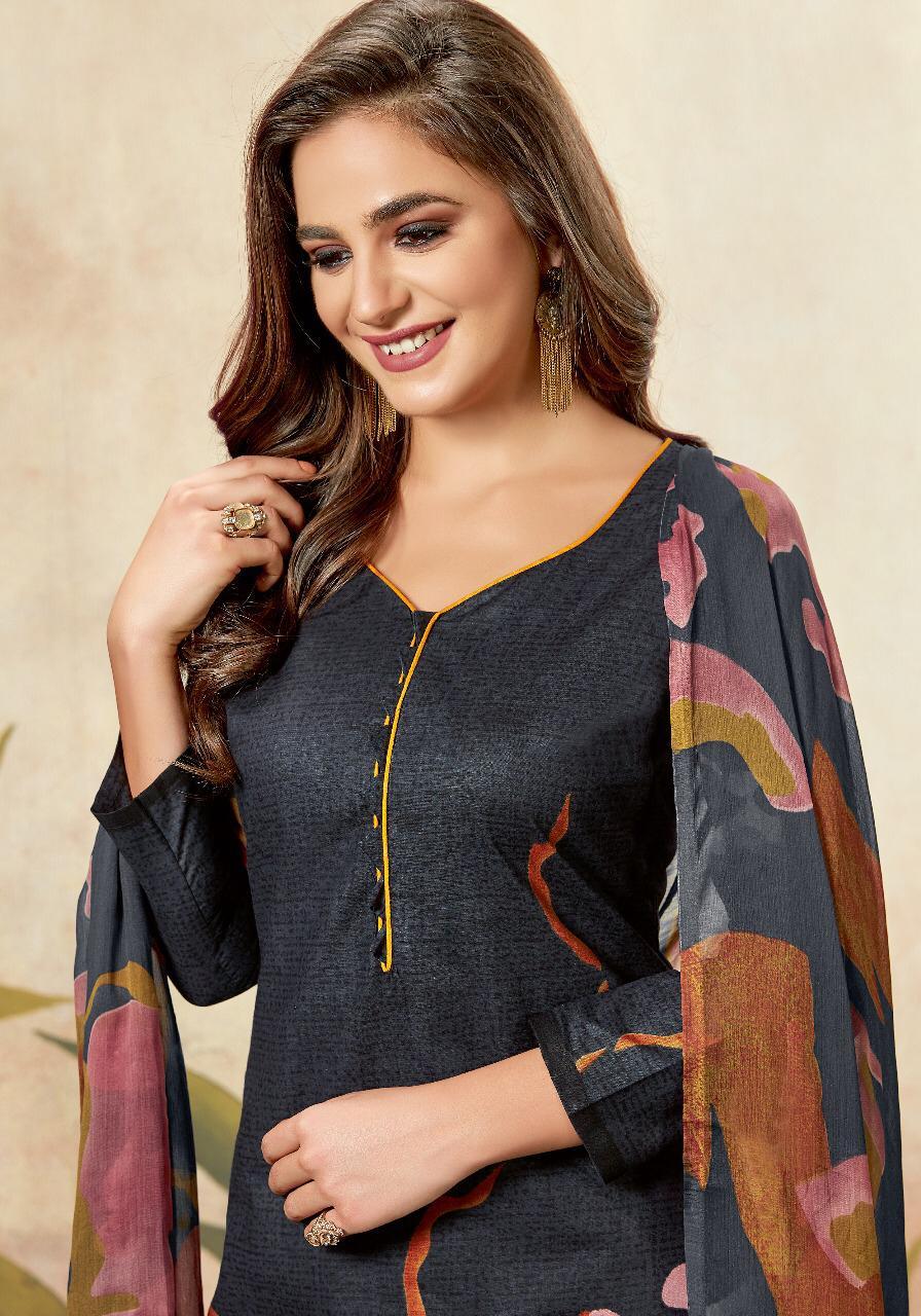 Floreon Juliya Cambric Heavy Cotton Suit Retail Wholesale