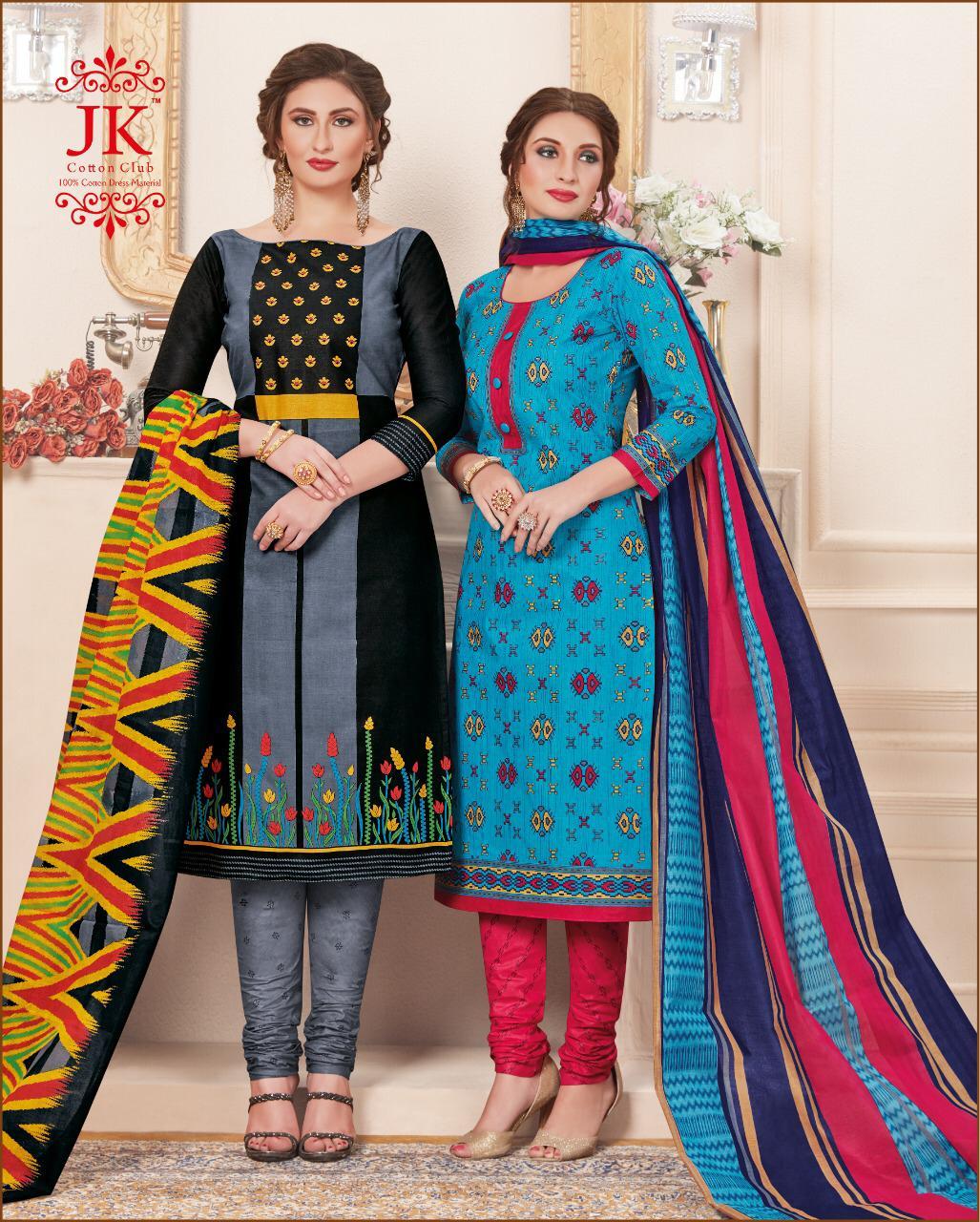 Jk Cotton Club Simran Vol 8 Designer Cotton Suits Wholesale