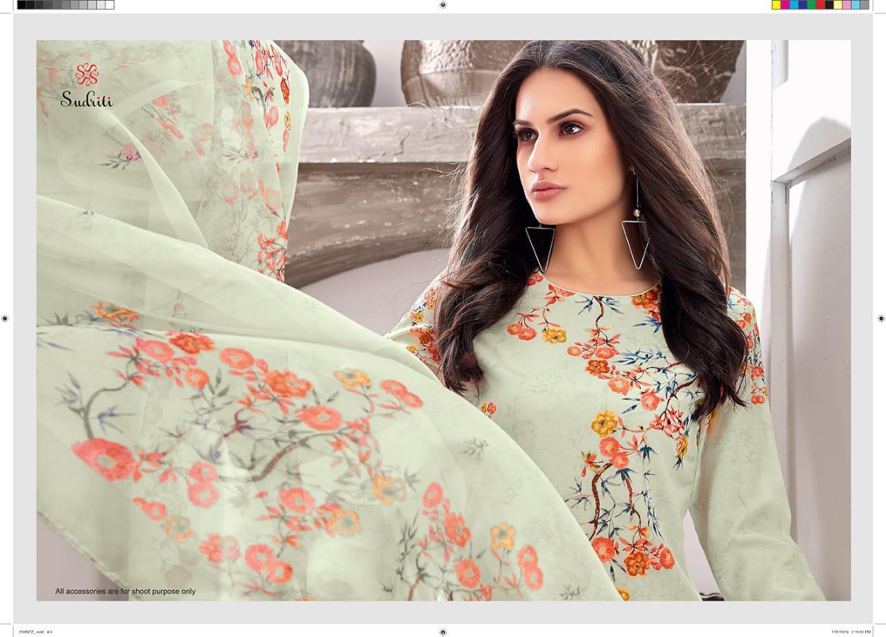Sahiba Sudriti Chintz Designer Digital Print Suit Wholesale