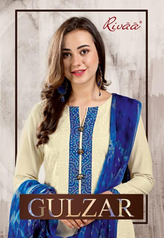 Rivaa Export Gulzar Designer Batik Print Suit Wholesale Lot