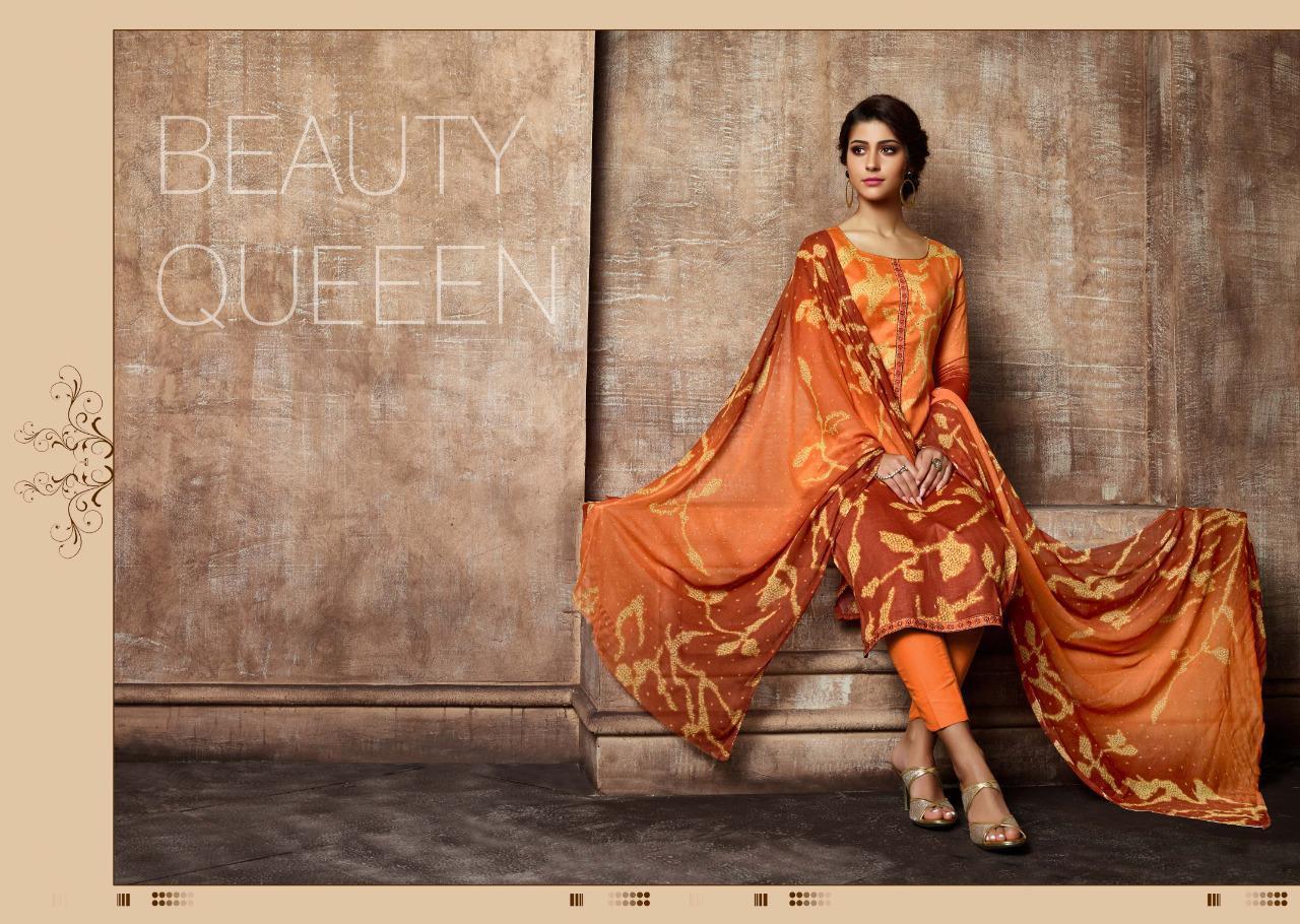 Sargam Prints Flory Designer Jam Print Suit Wholesale Lot