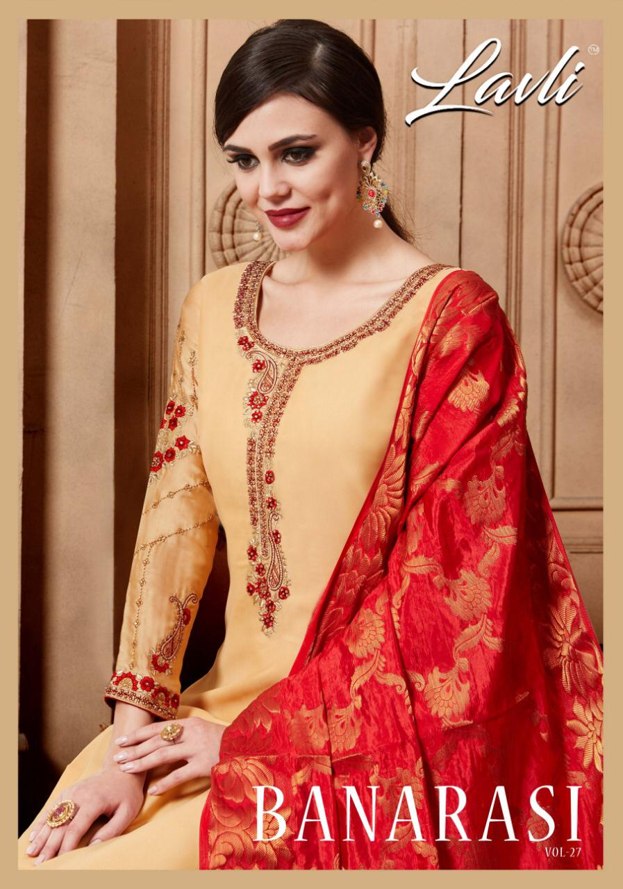 Lavli Fashion Vol 27 Designer Suits In Best Wholesale Rate