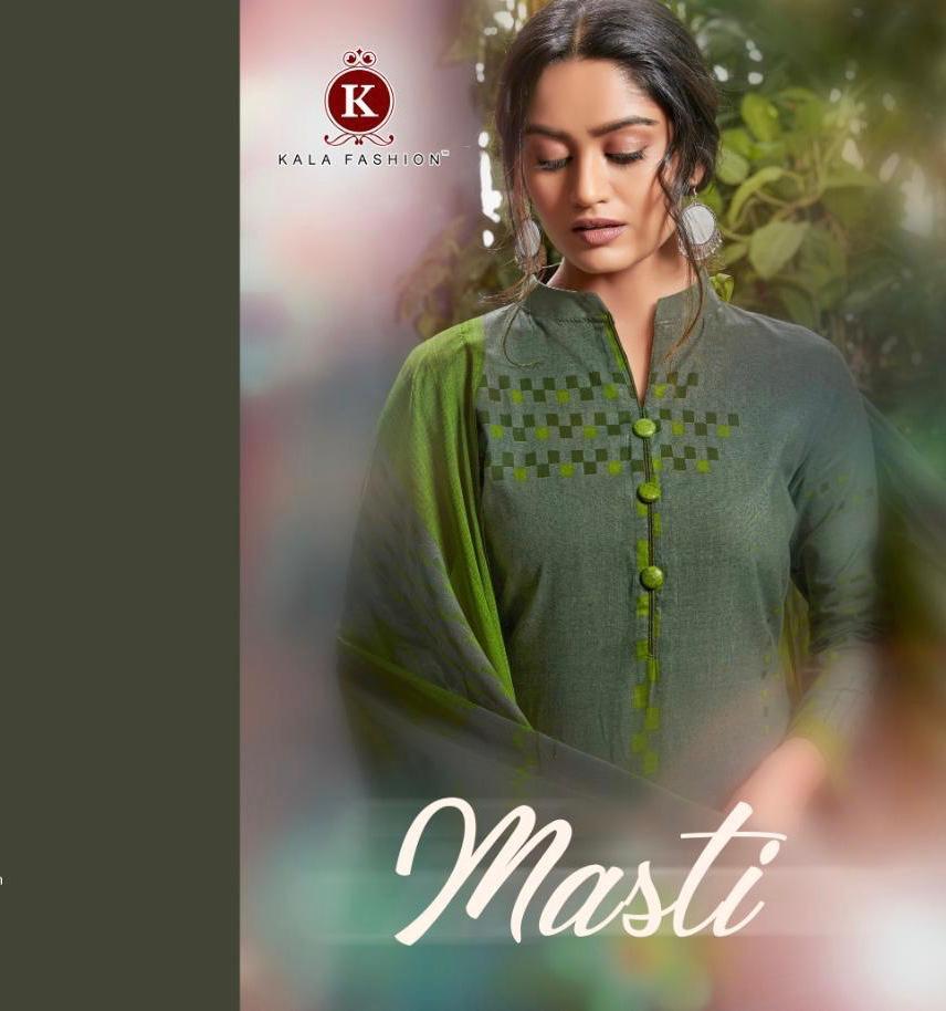 Kala Fashion Masti Designer Summer Suit Best Wholesale Rate
