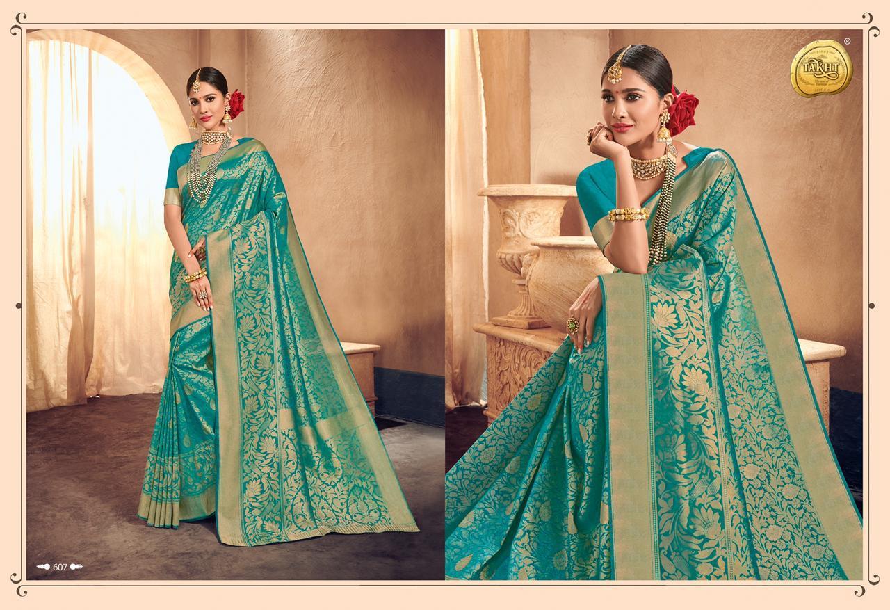 Raj Sanskar Queen Designer Party Wear Saree Wholesale