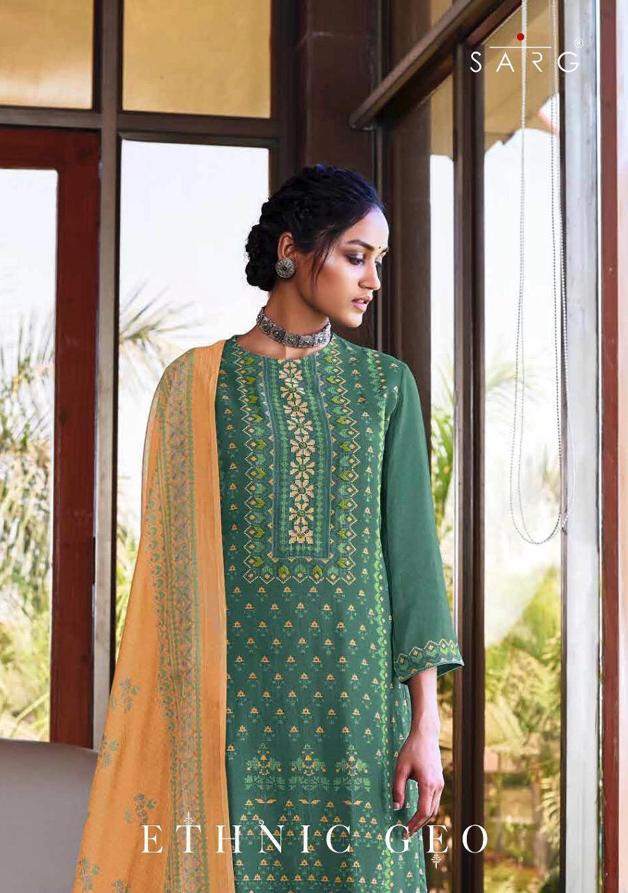 Sahiba Sarg Ethnic Ego Digital Print Desinger Suits Wholsale
