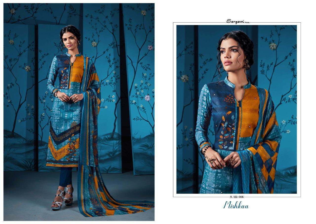 Sargam Prints Mishkaa Cotton With Shisha Khatli Suits Wholsa