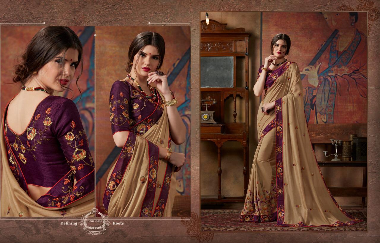 Kessi Akshara Vol2 Fancy Wedding Saree Wholsale