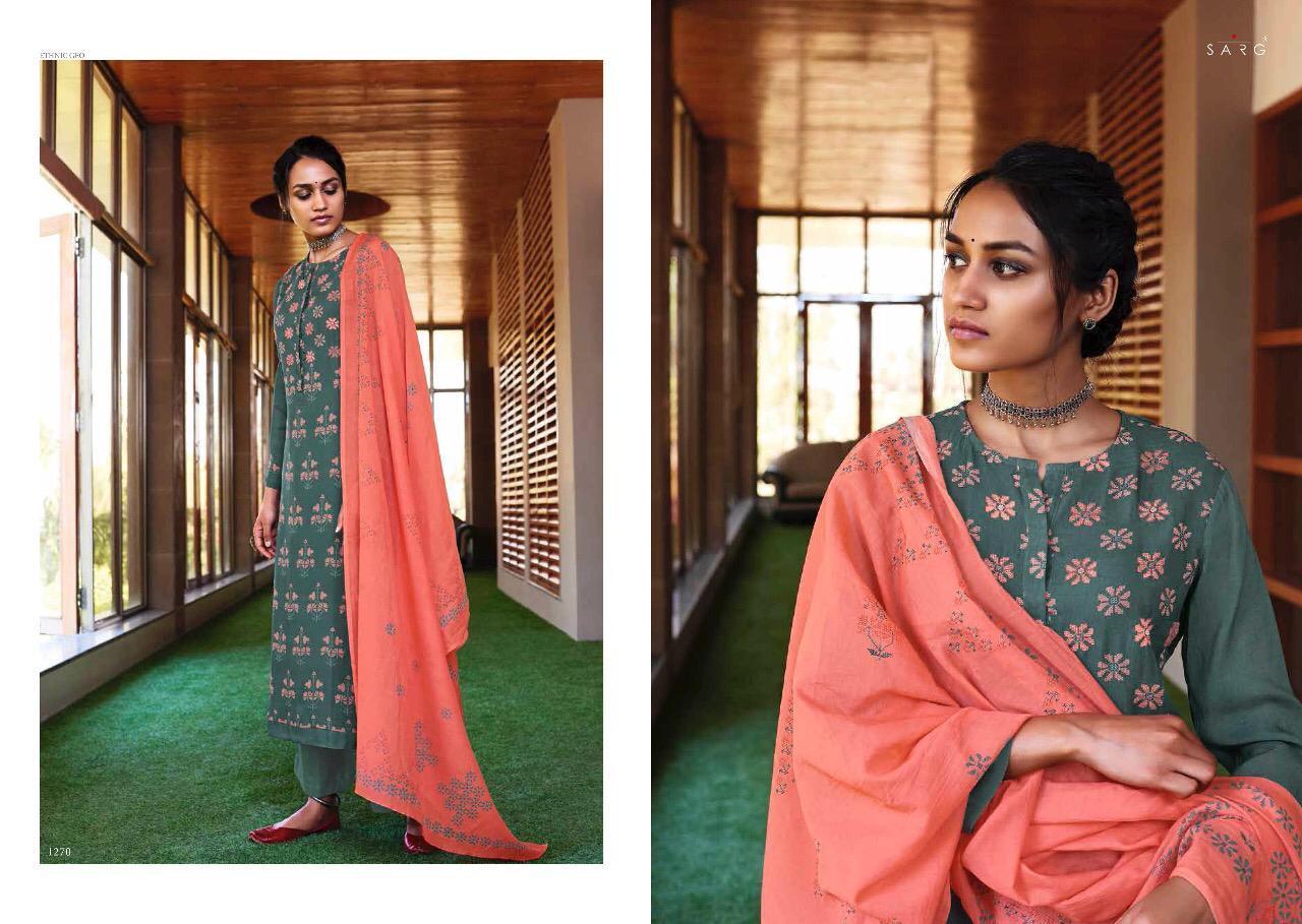 Sahiba Sarg Ethnic Geo Digital Print Handwork Fancy Suits Wh