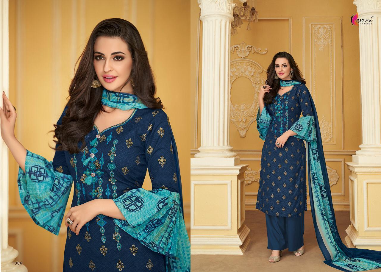 Kesari Trendz Alisa Vol8 Pure Cotton Desinger Suits Wholsale