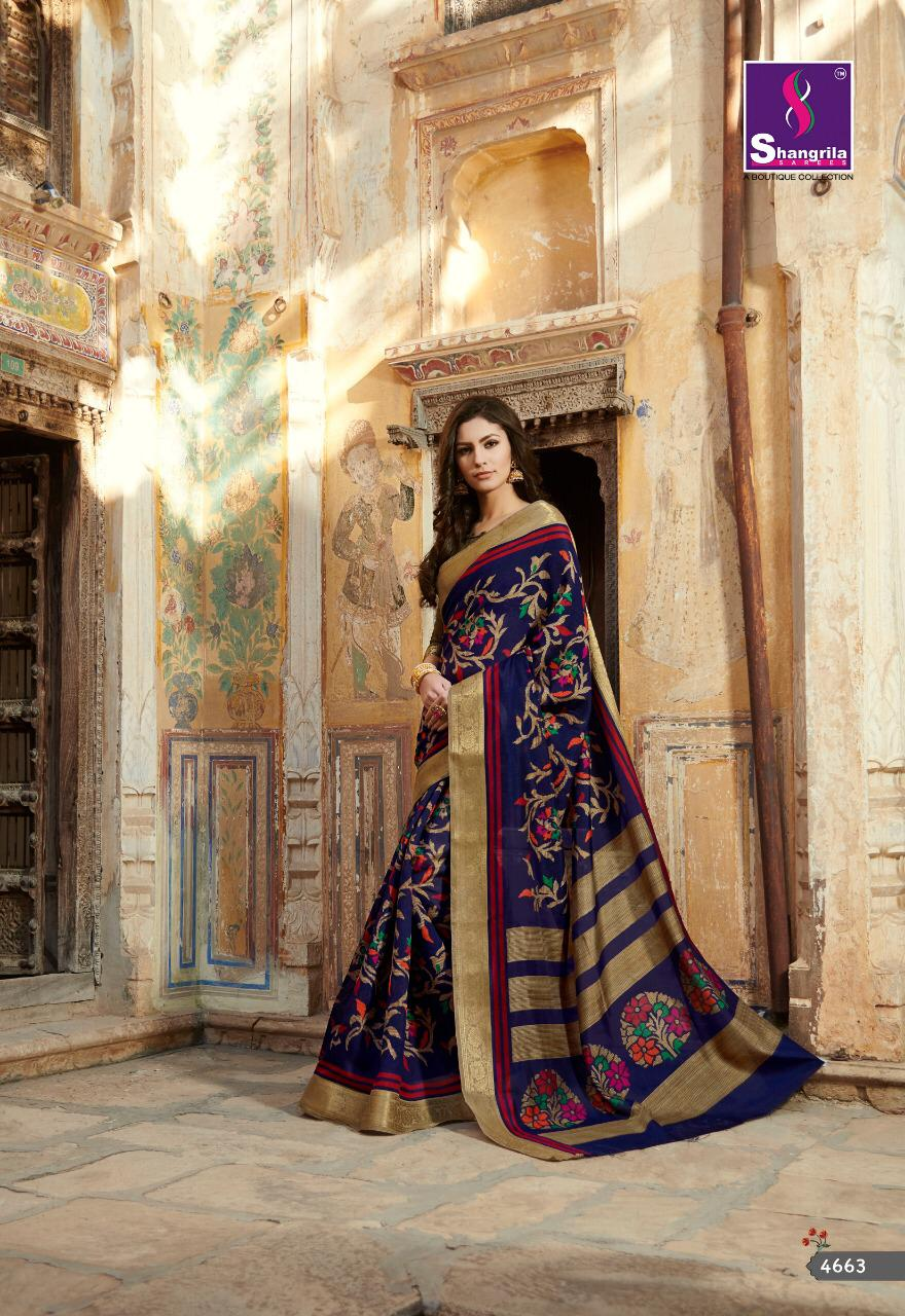 Sangrila Kanjivaram Silk Vol12 Desinger Saree Wholsale