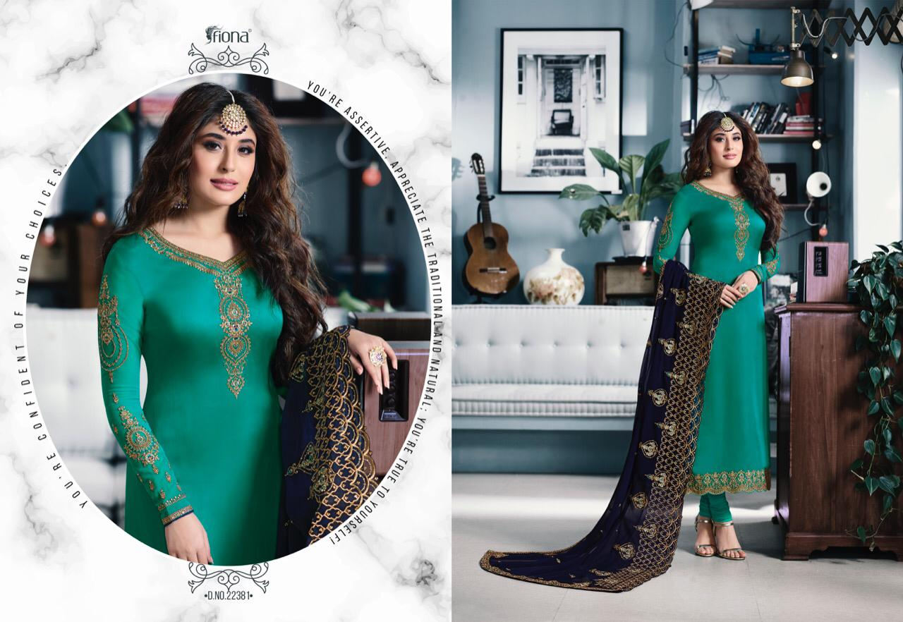 Fiona Kritika Desinger Top With Heavy Duppata Whosale