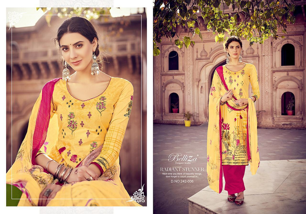 Belliza Studio Noor Pure Cotton Digitalprint Style  Wholsale