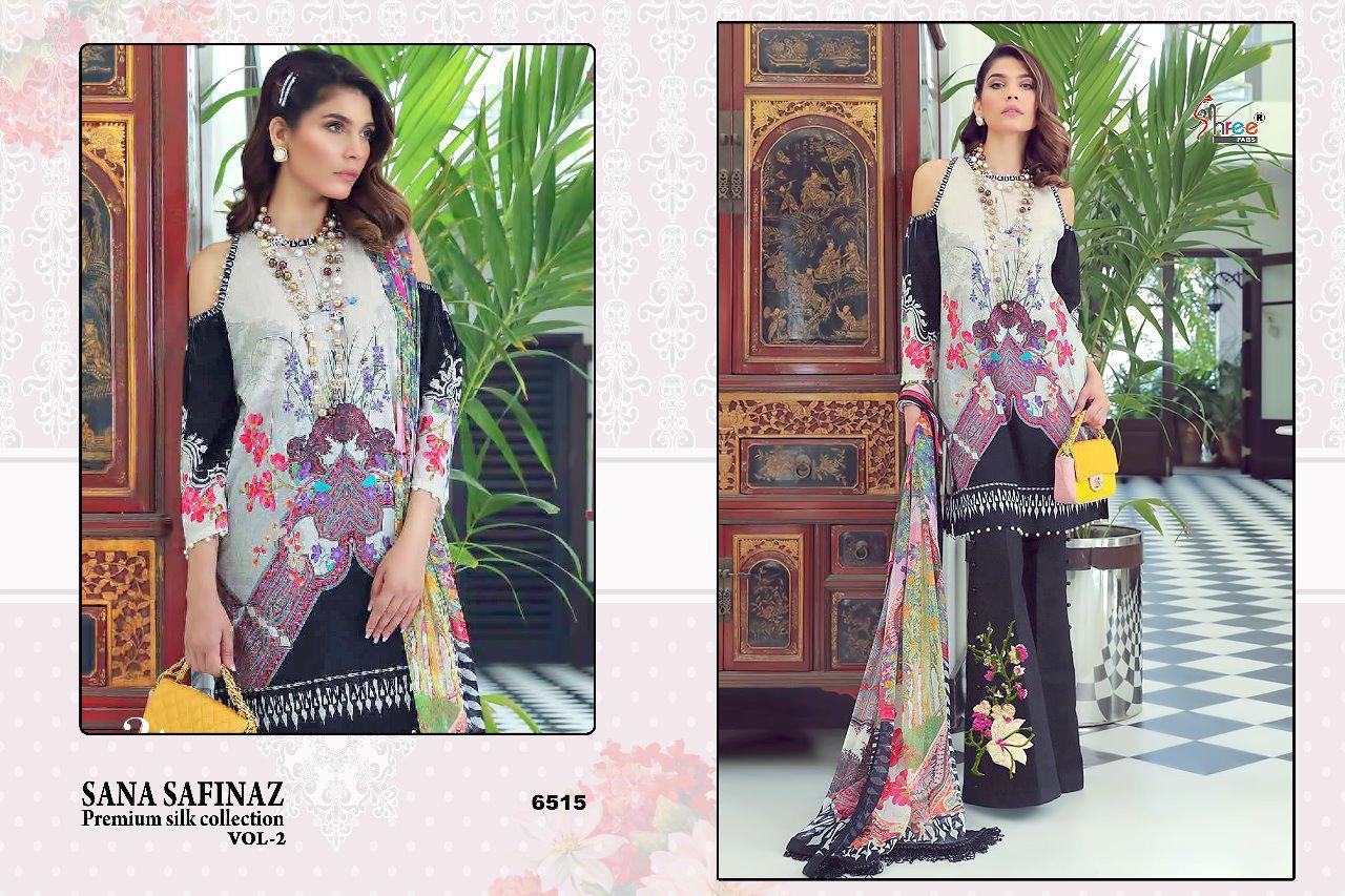 Sana Safinaz Premium Collection Vol2 Desinger Suits Wholsale