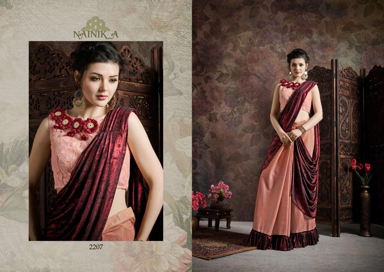 Nainik A Vol2 Designer Fancy Saree Wholsale