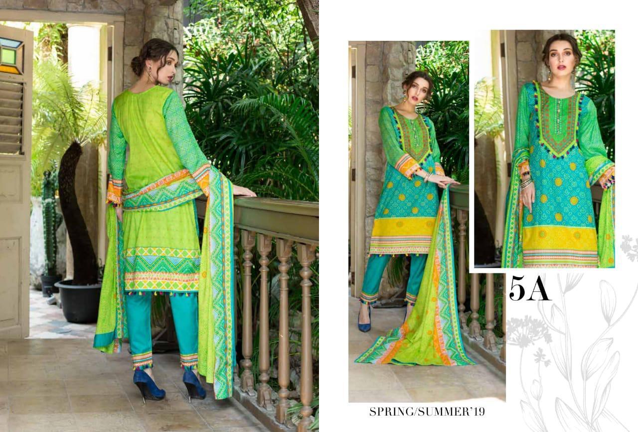 Original Pakistani Monsoon Lawn Vol2 Suits Wholsale