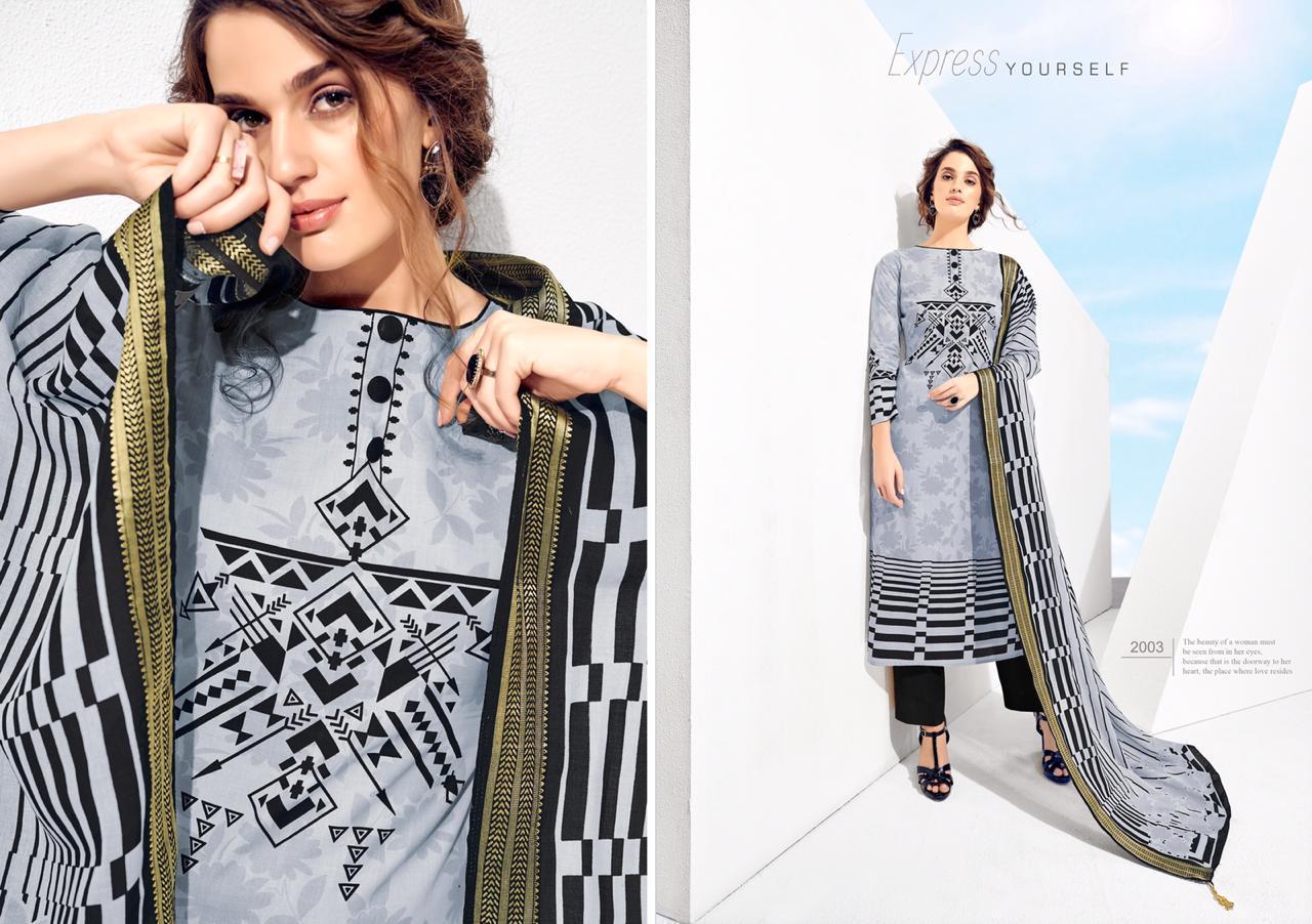 Karachi Prints Kaabil  New  Lawn Collection Suits Wholsale