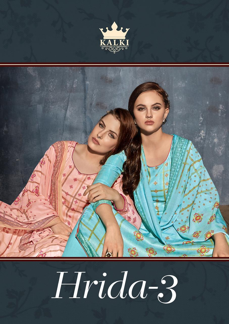 Kalki Hrida Vol3 New Styles Collection Suits Wholsale