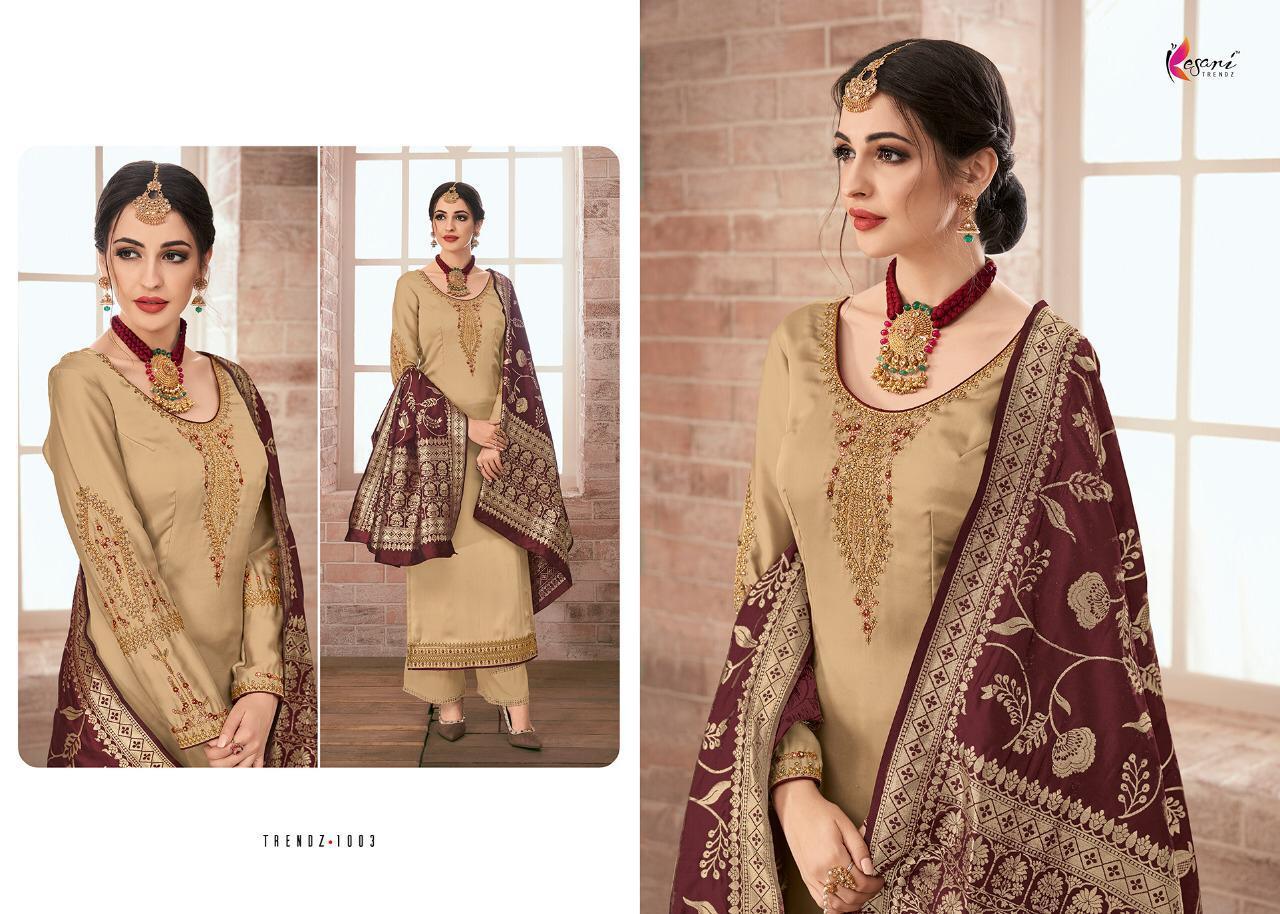Kesari Trendz Banaras Vol1 Desinger Wedding Suit Wholsale