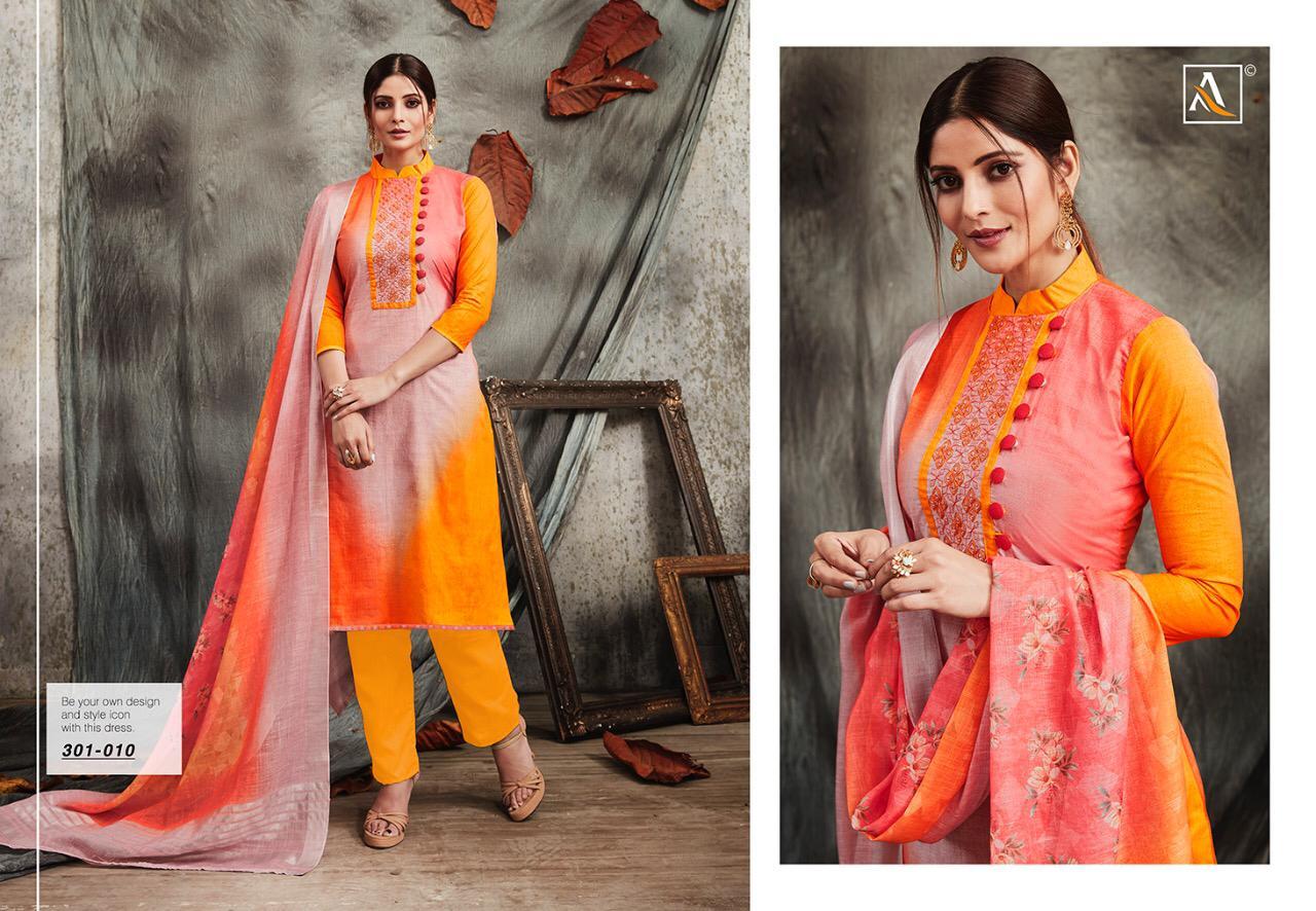 Alok Suit Panghat Designer Fancy Suits Wholsale