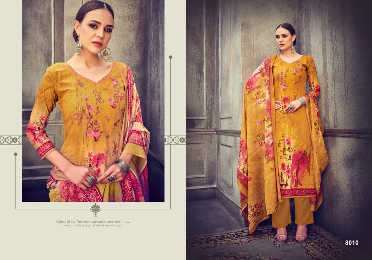 Kesar Ada New Cambric Print With Embroidery Suits Wholsale