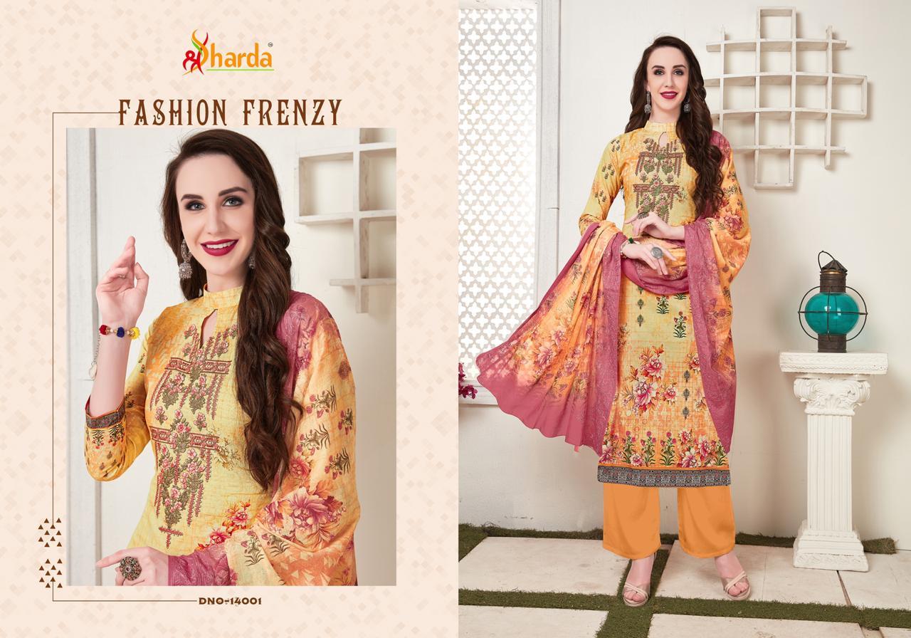 Lavina Sharda Vol14  Aari Work With Prints Suits Wholsale
