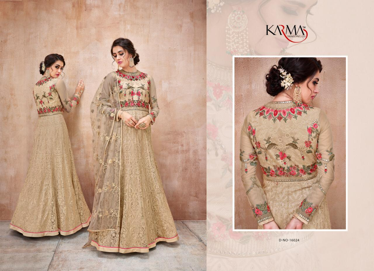 Karma Brand Created Eid Special Heavy Suits Wholsale