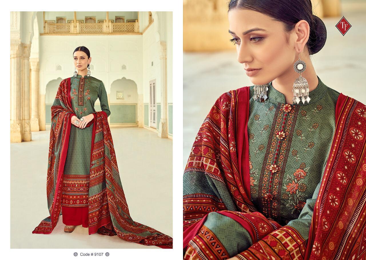 Tanishk Fashion Kashmiri Vol4 New Desinger  Suits Wholsale