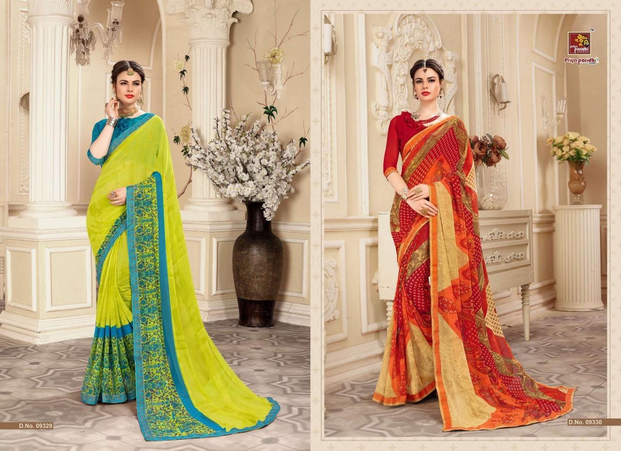 Priya Paridhi Akshara Vol19 New Fancy Saree Wholsale