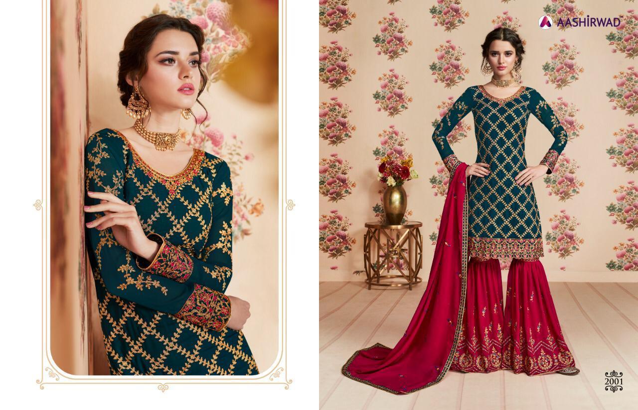 Aashirwad Nafiza  New Designer Wedding Lehenga Wholsale
