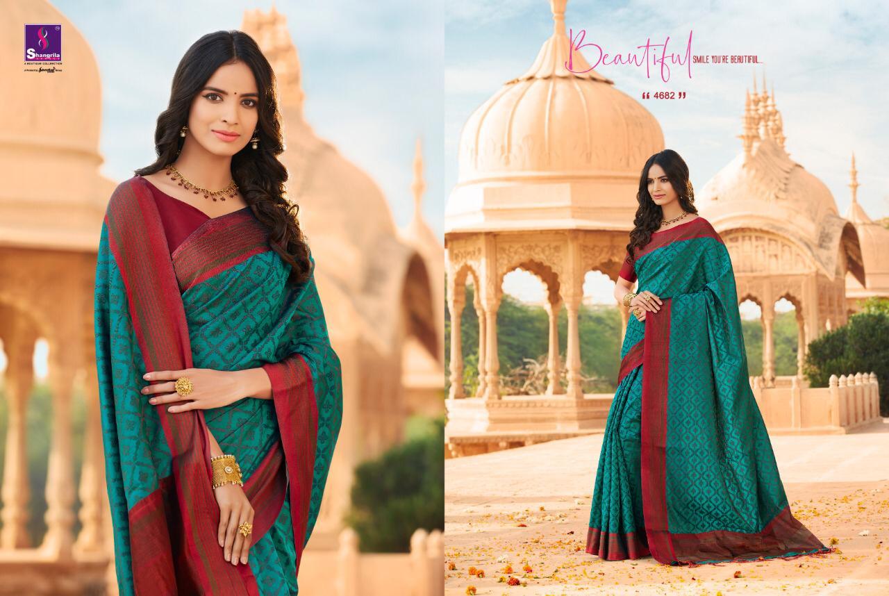 Sangrila Radharani Vol1 New Cotton Weaving Saree Wholsale