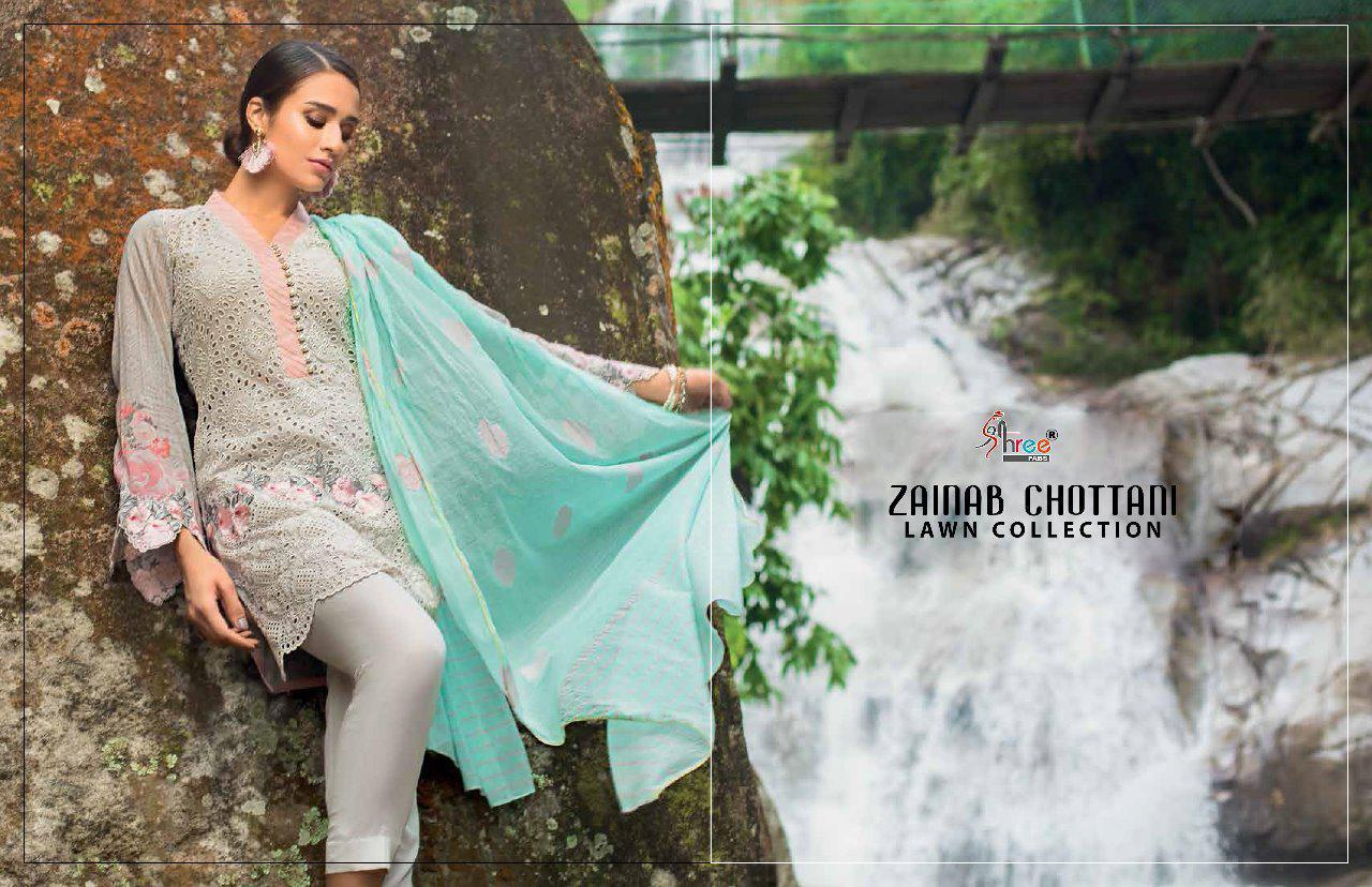 Deepsy Zainab Chottani Indian Lawn Suit Collection Wholesale