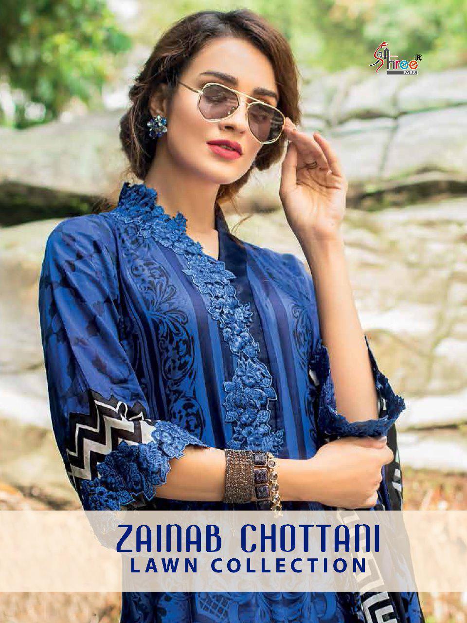 Shree Fab Zainab Chottani Lawn Collection Wholesale