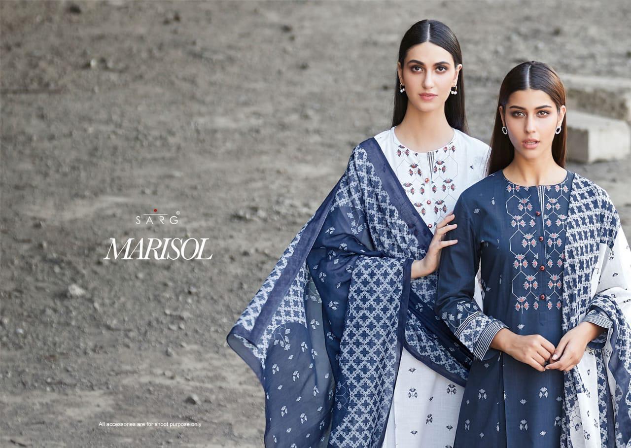 Sahiba Sarg Marisol Designer Handwork Suits Wholesale