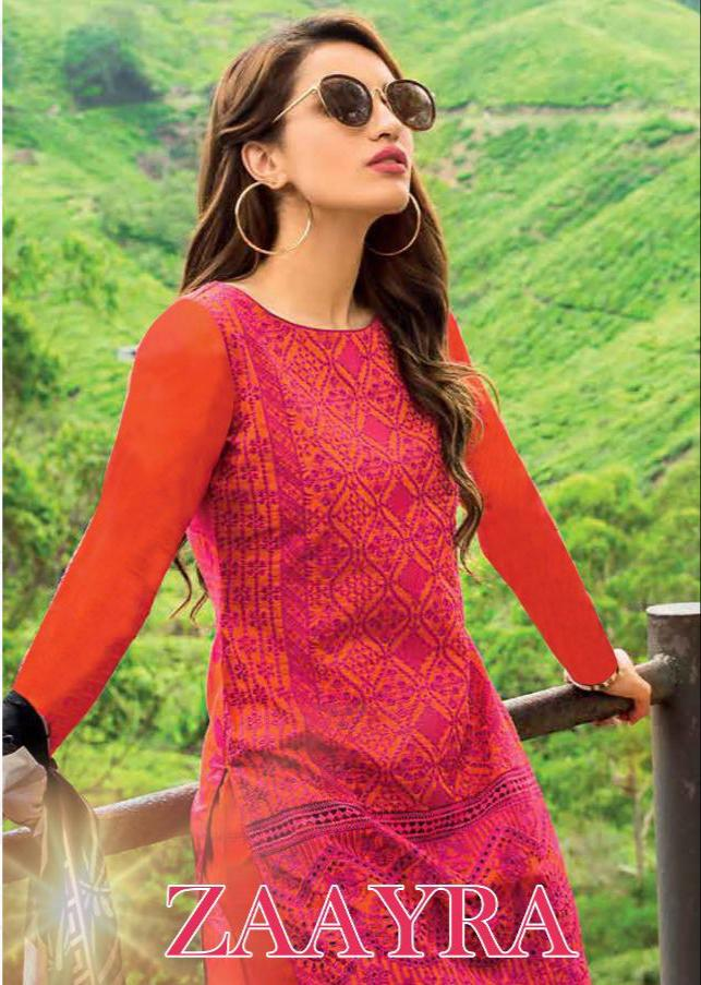 Deepsy Zaayra Designer Embroidary Suits Wholesale