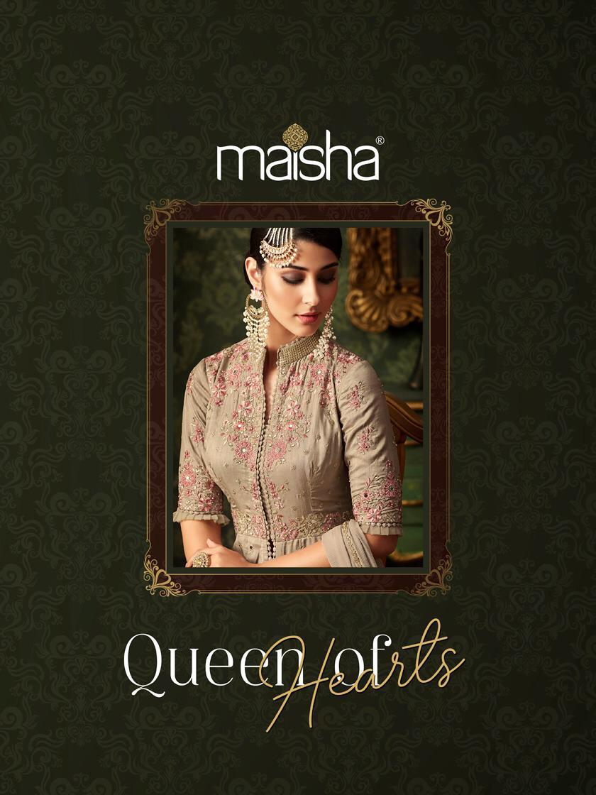 Maisha Brings Queen Of Heart Designer Wedding Wear Wholesale