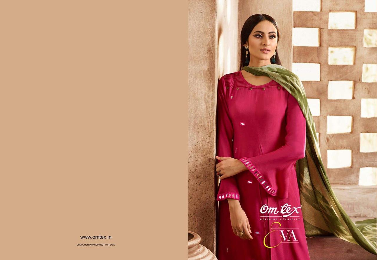 Omtex Eva Mirror Work Designer Dress Best Wholesale Rate