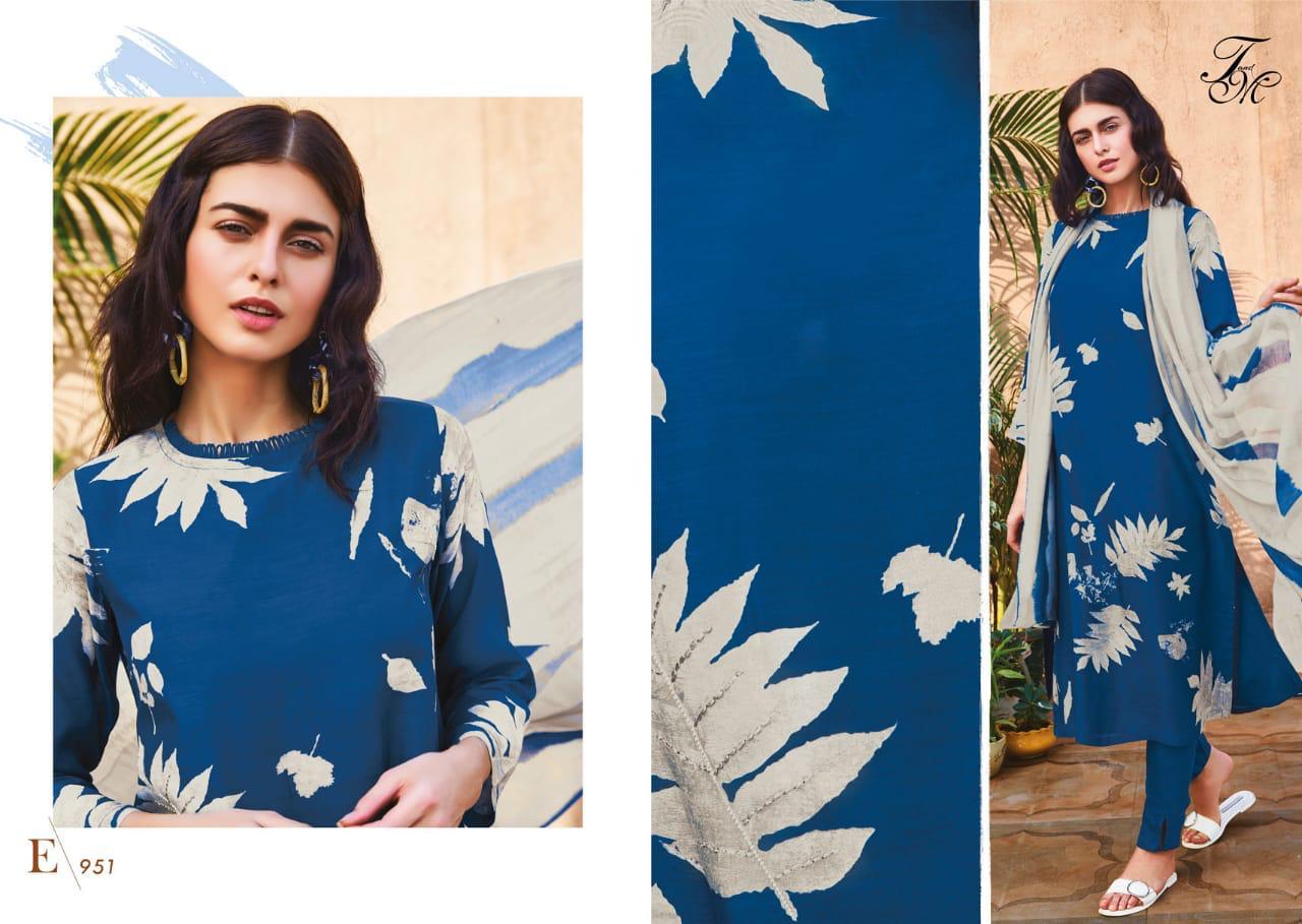 Sahiba Essence Designer Cotton Silk Print Suit Wholesale