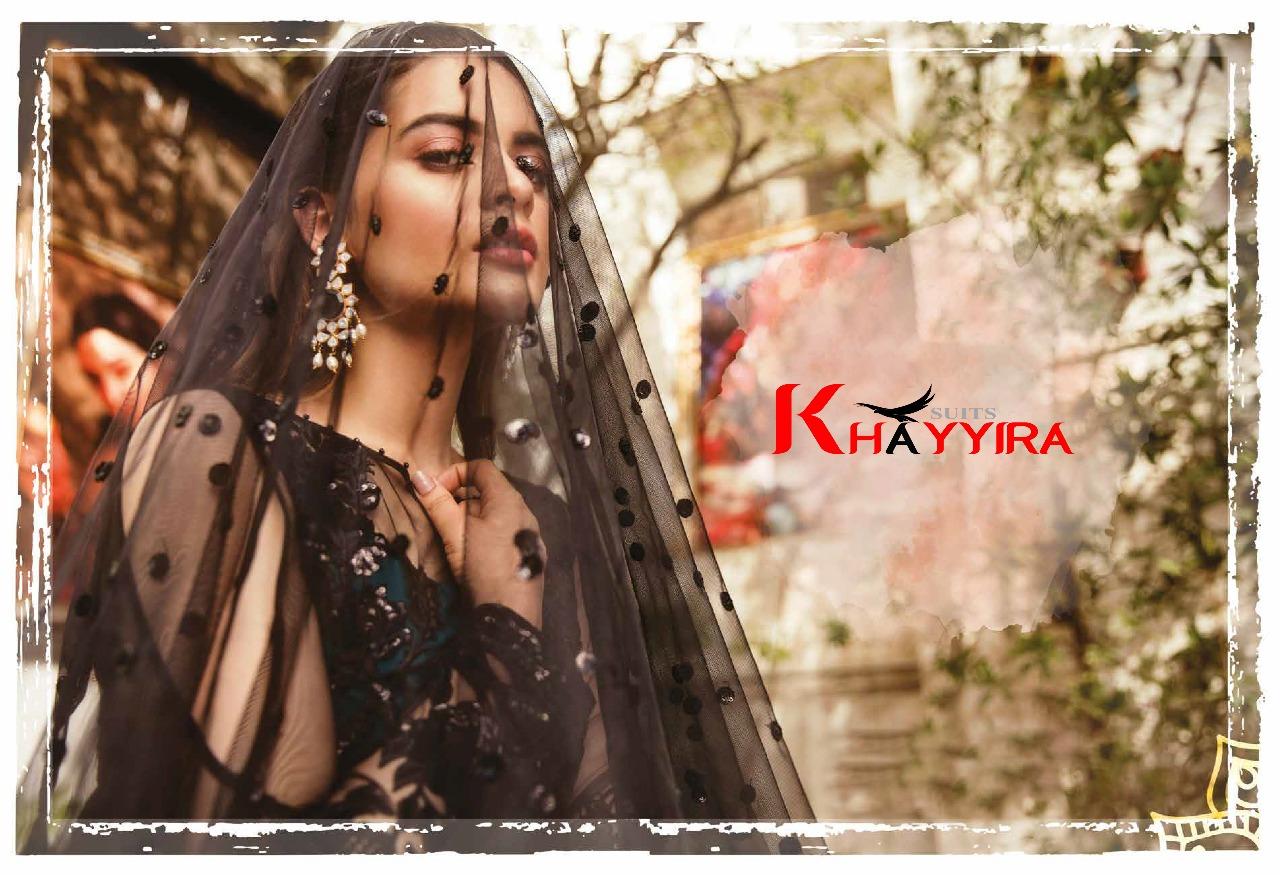 Khayyira Freesia Designer Pakistani Pettern Suits Wholesale