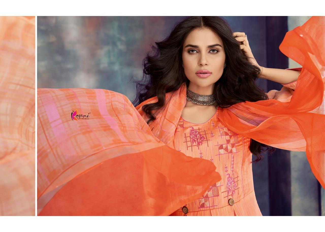 Kesari Trendz Alisa Vol9 Jam Satin Desinger Suits Wholsale