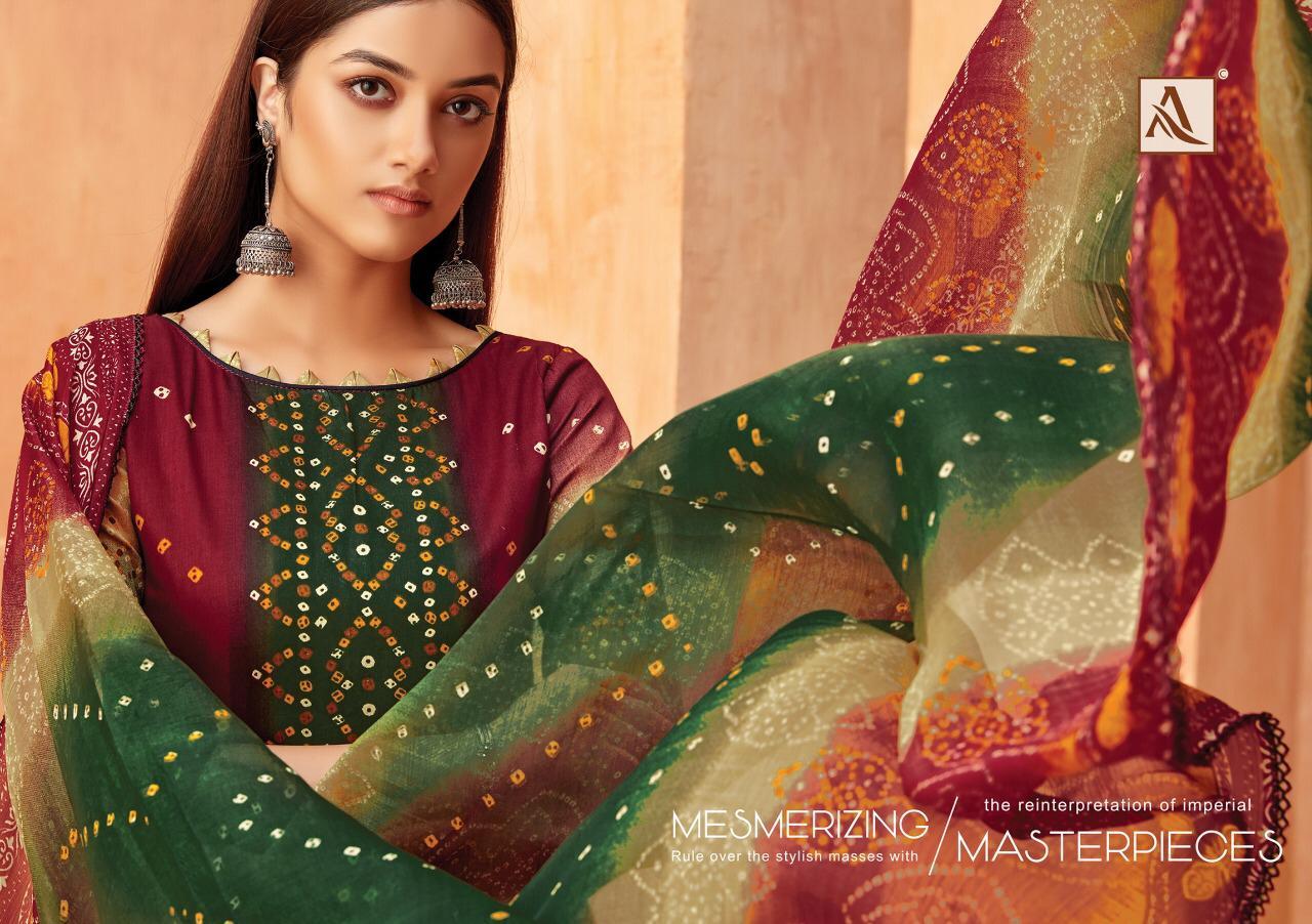 Alok Suit Satrangi Designer Jam Cotton Suits Wholesale
