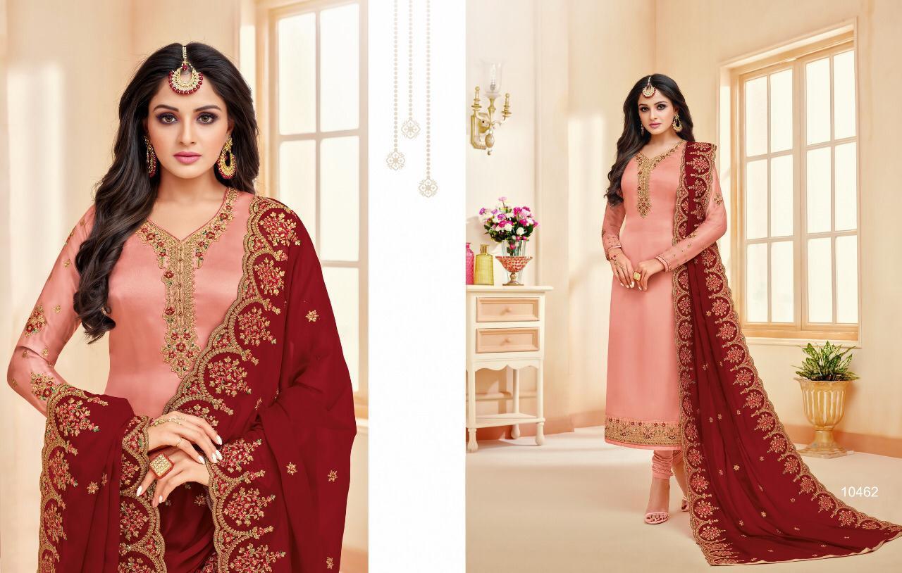 Meera Zisa Vol 56 Desiner Suit Wholesale