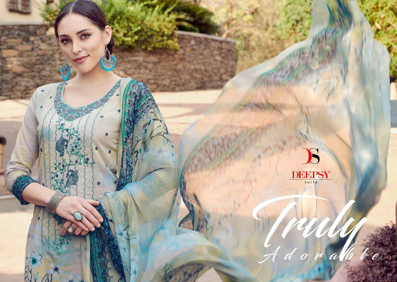 Deepsy Florent 20 Designer Self Embroidary Suits Wholesale