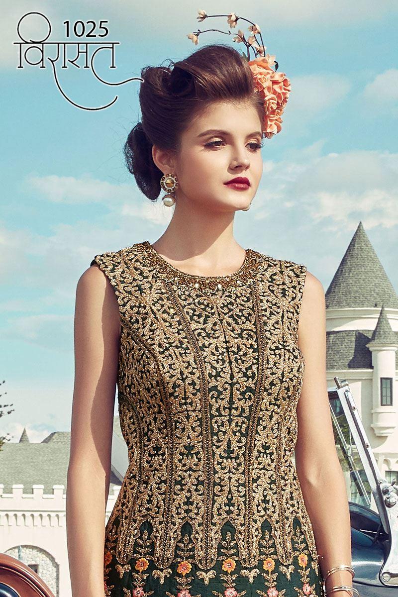 Virasat Vol 6  Eid Special Designer Gown Best Wholesale Rate