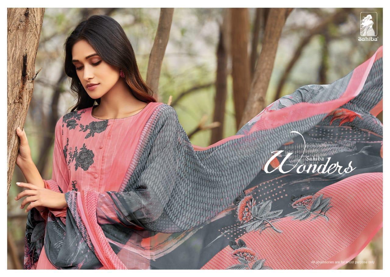 Sahiba Wonders Designer Cotton Suits Best Wholesale Rate