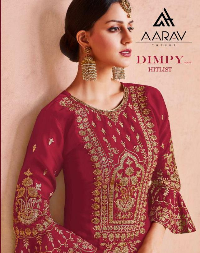 Aarav Trendz Dimpy Vol 2 Designer  Suits Best Wholesale Rate
