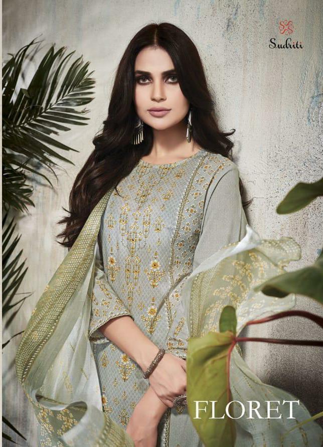 Sahiba Sudriti Floret Designer Digital Print Suits Wholesale