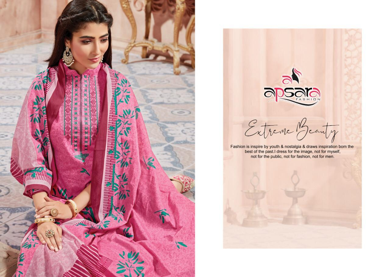 Apsara Aada  Designer Emb Karachi Suits Best Wholesale Rate.